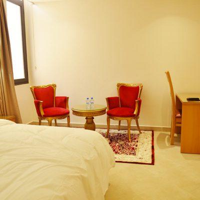 dakhla, maroc, chambre, hôtel